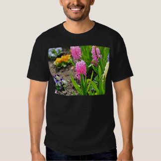 Colorful back yard Plants Tshirts