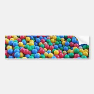 Colorful Ball Pit Balls Kids Play Bumper Sticker