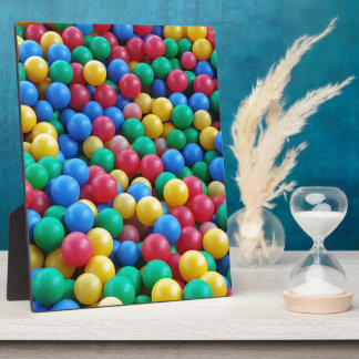 Colorful Ball Pit Balls Kids Play Display Plaques