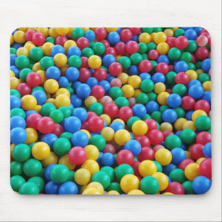 Colorful Ball Pit Balls Kids Play Mouse Pad