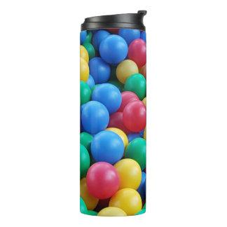 Colorful Ball Pit Balls Kids Play Thermal Tumbler