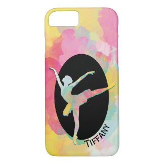Colorful Ballerina iPhone 7 Case