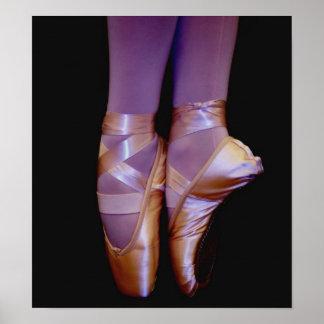 Colorful Ballerina Print