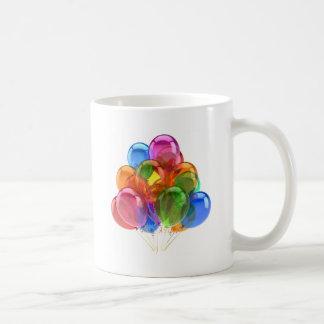 Colorful Ballons Basic White Mug