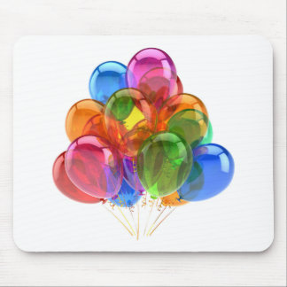 Colorful Ballons Mouse Pad
