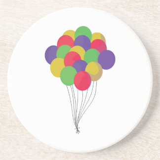 Colorful Balloons Beverage Coasters