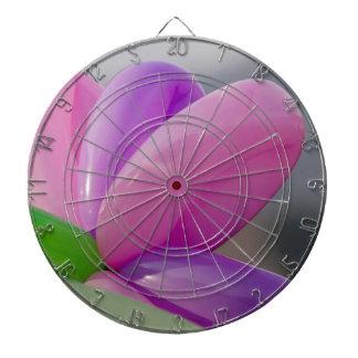 colorful balloons dartboard