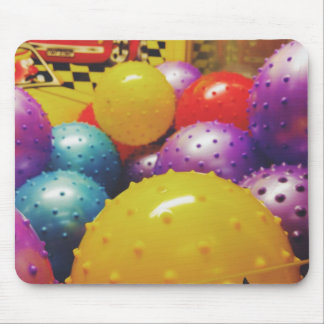 Colorful balls mouse pad