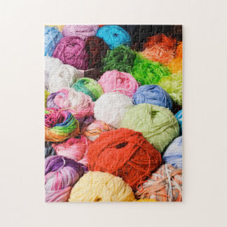 Colorful Balls of Yarn Jigsaw Puzzle