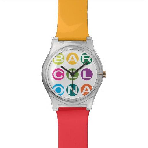 Colorful BARCELONA Watch