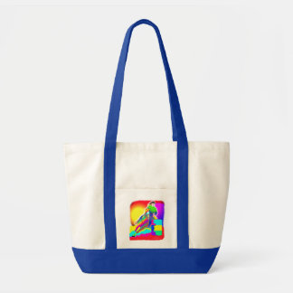 Colorful Barrel Racer Tote Bag