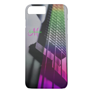 Colorful Bass Guitar Music iPhone 7 Case