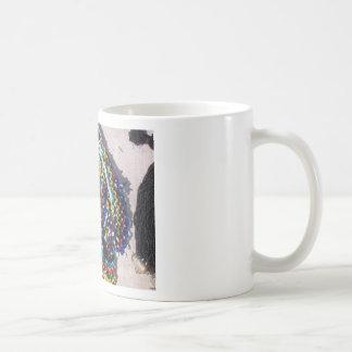 Colorful beads mugs