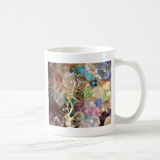 colorful beads coffee mugs