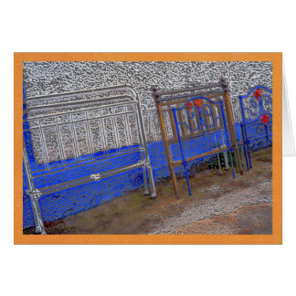 Colorful bedframes in Portugal Card