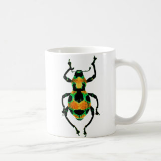 Colorful beetle mug