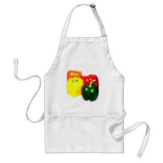 Colorful Bell Peppers Apron