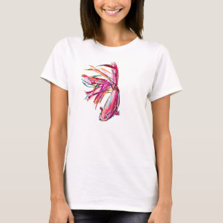 Colorful Betta Fish - T-Shirt