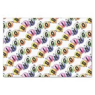 Colorful Bingo Tissue Paper