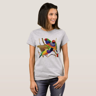 Colorful Birds T-Shirt