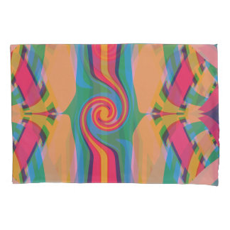 Colorful Bizarre Pillowcase