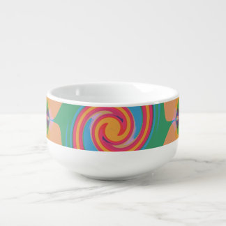 Colorful Bizarre Soup Mug