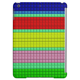 Colorful blocks pattern cover for iPad air