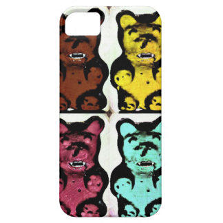 Colorful Blood Sucking Gummy Bruins iPhone 5 Cases