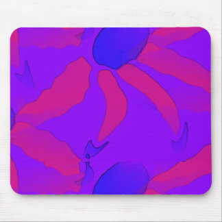Colorful Blooms Mouse Pad
