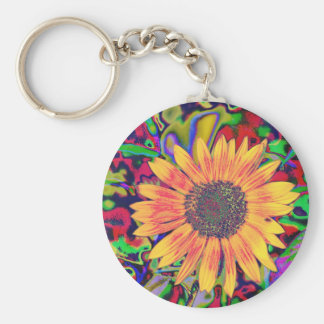 Colorful Blossom Keychain