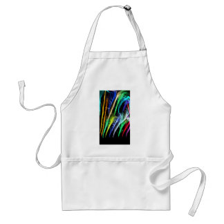 Colorful Blowing Branches Aprons