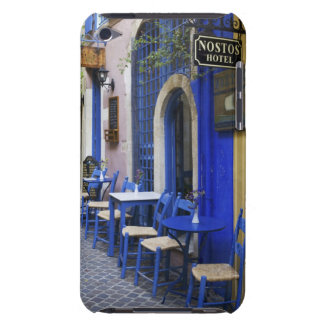 Colorful Blue doorway and siding to old hotel in Case-Mate iPod Touch Case