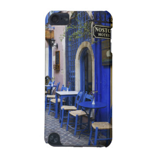 Colorful Blue doorway and siding to old hotel in iPod Touch (5th Generation) Case