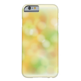 Colorful blur pattern barely there iPhone 6 case