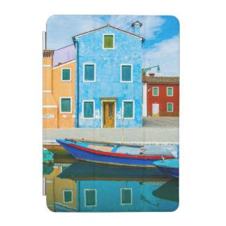 Colorful Boat Scene |Venetian Lagoon iPad Mini Cover