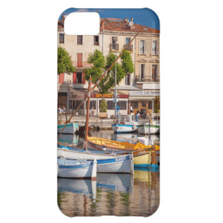 Colorful boats in the small harbor iPhone 5C case