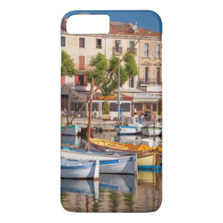 Colorful boats in the small harbor iPhone 8 plus/7 plus case