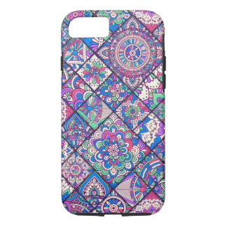 Colorful Bohemian Mandala Patchwork iPhone 8/7 Case
