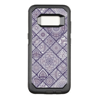 Colorful Bohemian Mandala Patchwork OtterBox Commuter Samsung Galaxy S8 Case