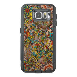 Colorful Bohemian Mandala Patchwork OtterBox Samsung Galaxy S6 Case