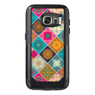 Colorful Bohemian Mandala Patchwork OtterBox Samsung Galaxy S7 Case
