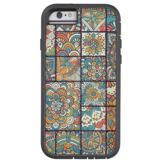 Colorful Bohemian Mandala Patchwork Tough Xtreme iPhone 6 Case