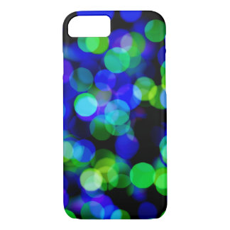 Colorful bokeh lights iPhone 7 case