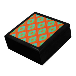 Colorful Bold Diamonds Large Square Gift Box