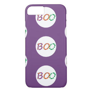 Colorful Boo for Halloween iPhone 7 Case