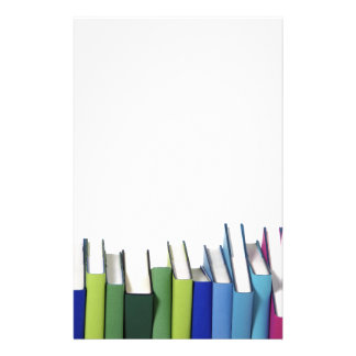 Colorful Books Stationery Design
