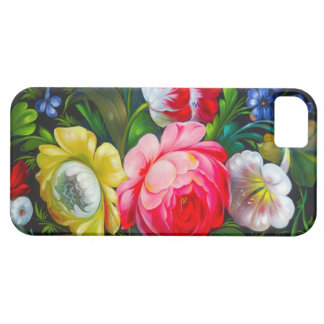 colorful bouquet iPhone 5 Case