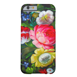 colorful bouquet iPhone 6 case Barely There iPhone 6 Case