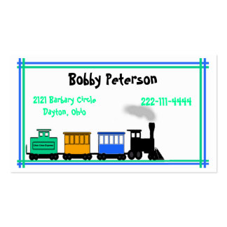 Colorful Boy s calling card Business Card