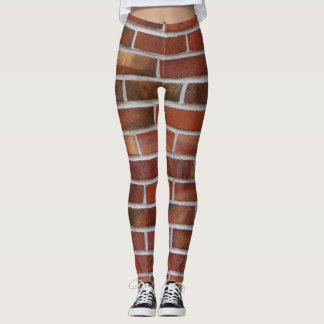 COLORFUL BRICK WALL LEGGINGS